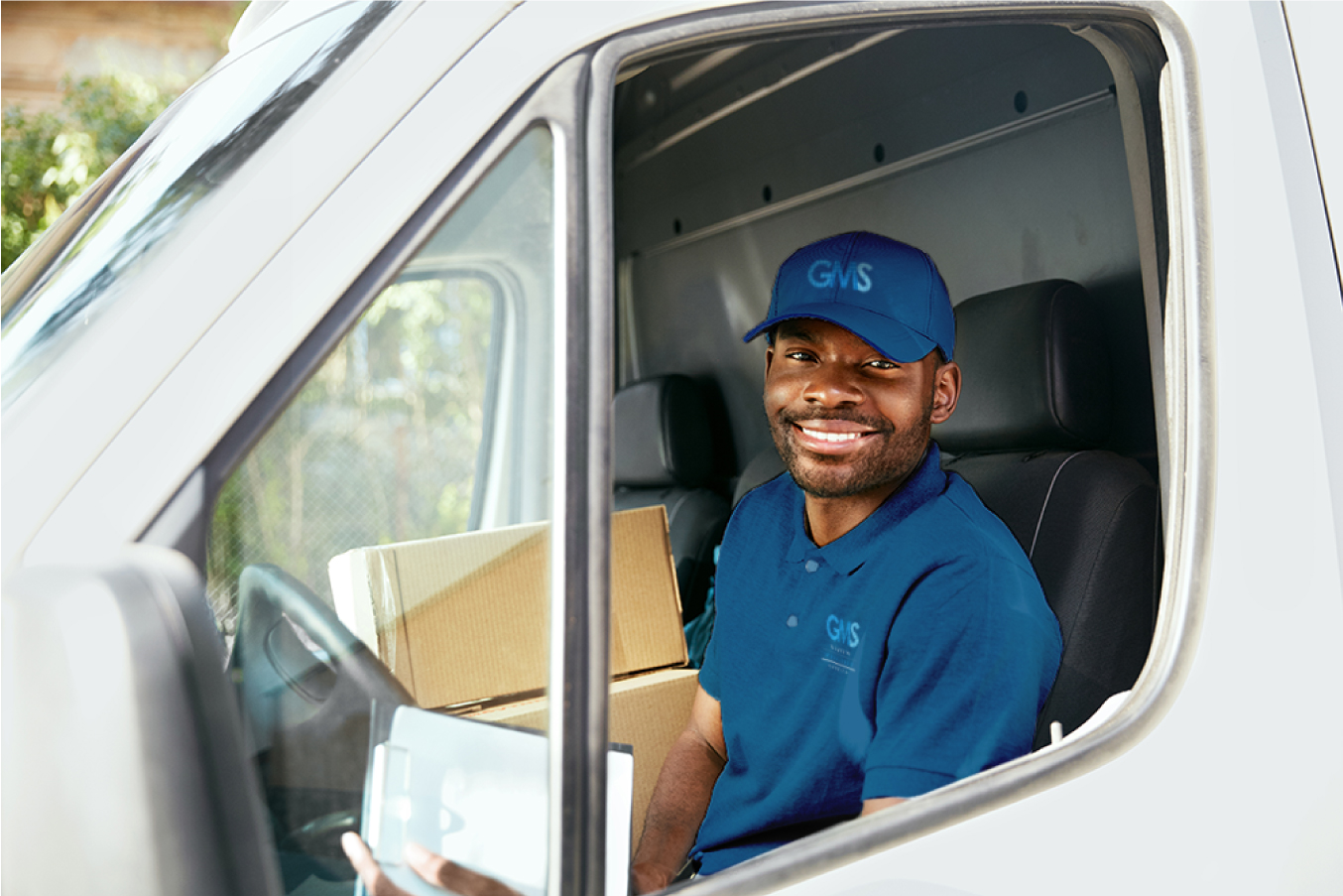 Delivery Driver in truck